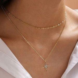 LAST! Rhinestone pendant dainty necklace choker